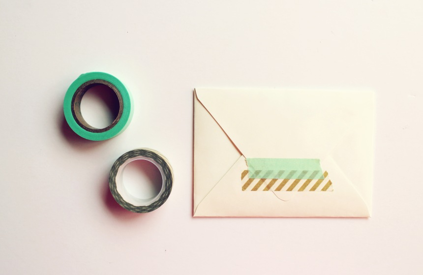 Turning Anthropologie Bags into Envelopes | Ann-Marie Loves Paper