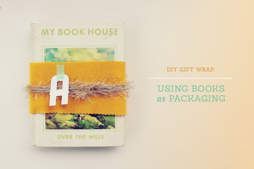 Using Books as Packaging | Ann-Marie Loves Paper