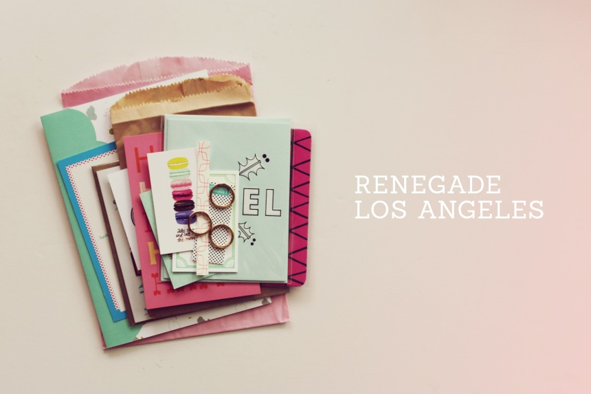 Renegade Los Angeles 2012 | Ann-Marie Loves Paper
