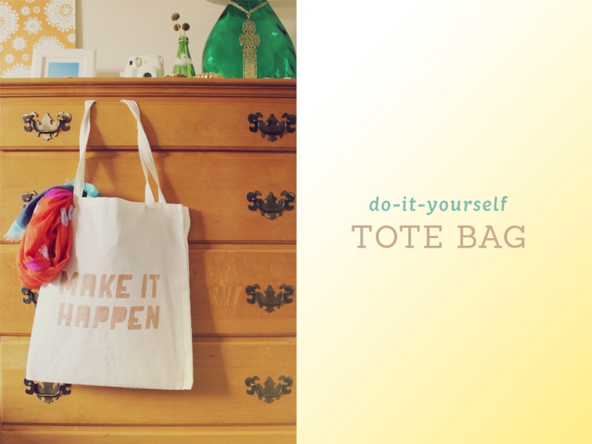 Tote Bag DIY | Ann-Marie Loves Paper