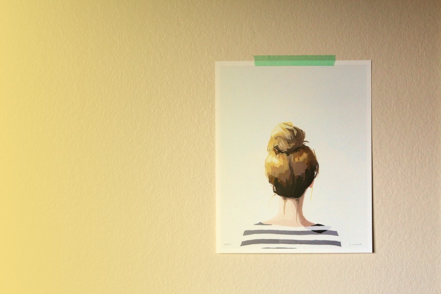 Top Knot 18 by Elizabeth Mayville | via Ann-Marie Loves Paper
