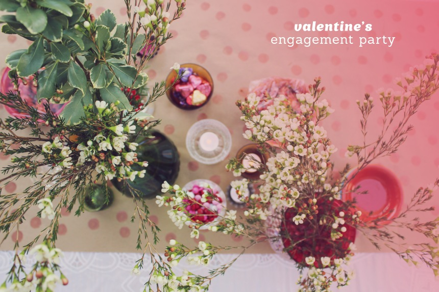 A Valentine's Engagement Party | Ann-Marie Morris