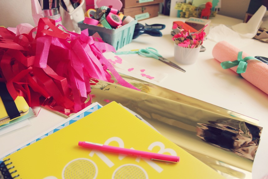 engagement party crafting | ann-marie loves paper