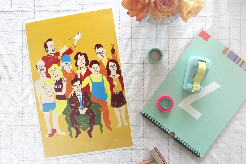 Arrested Development Print | Ann-Marie Morris