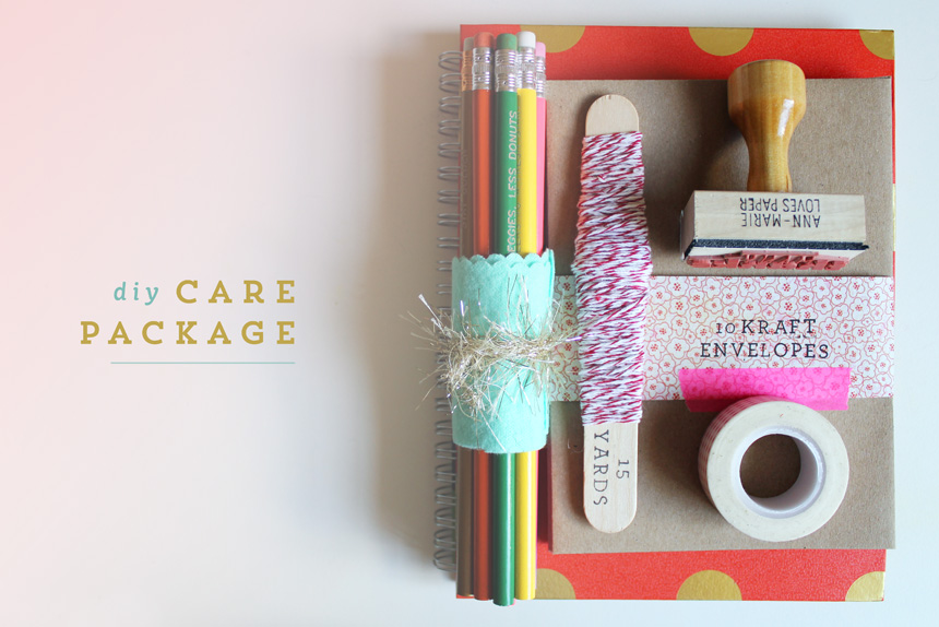 DIY Care Package | Ann-Marie Loves Paper