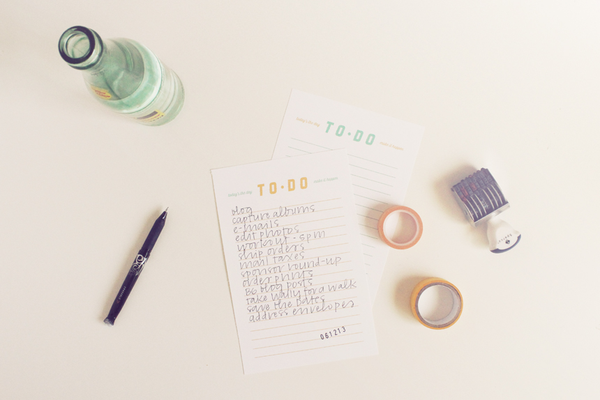 To-Do List Printable | Ann-Marie Loves Paper