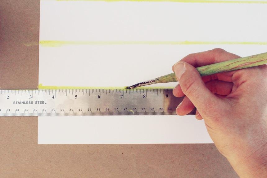 DIY Watercolor Calendar | Ann-Marie Loves Paper