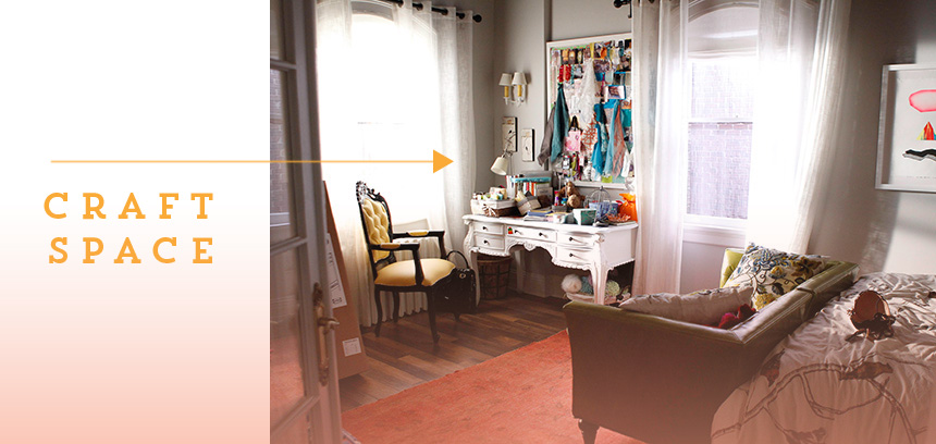 The Mindy Project Set Design | via Ann-Marie Loves Paper